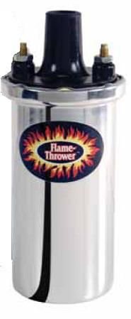 Pertronix Flame Thrower, Tändspole 8-cyl, Universal Chrome