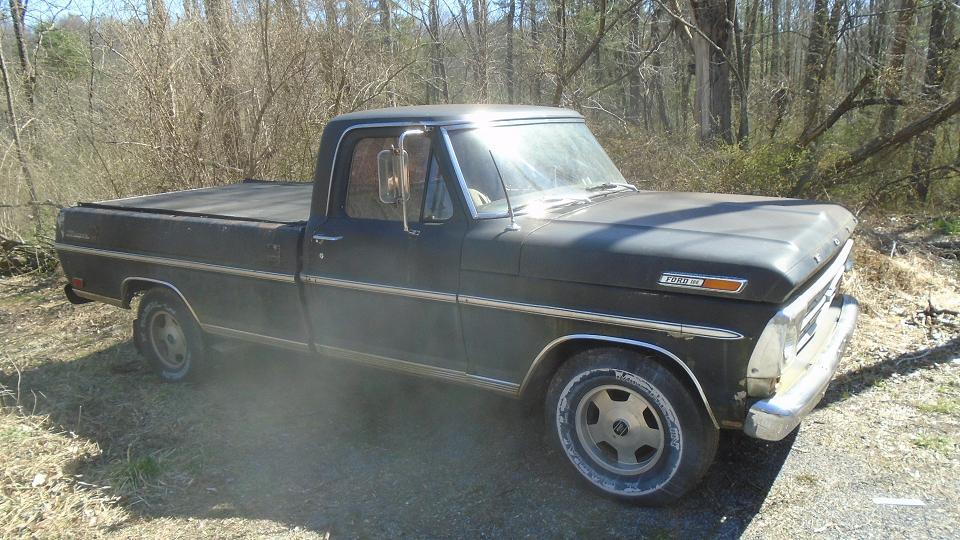 ford pickup till salu