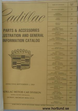 1960-1970 Cadillac Illustration & General Information Catalog