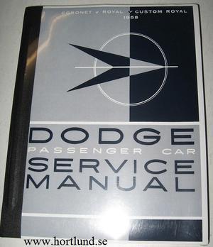 1958 Dodge Service Manual