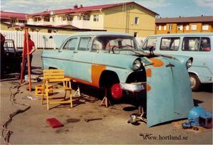 1955 Ford Customline Fordor Sedan