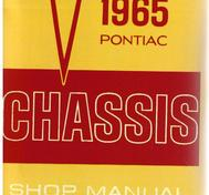 1965 Pontiac Chassis Shop Manual