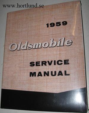 1959 Oldsmobile Shop Service Manual