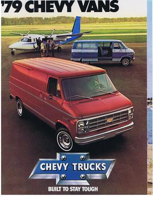 1979 Chevrolet Vans broschyr