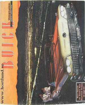 1958 Buick magazine march - april 1958