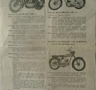 1950 Svecia Speed-Master broschyr svensk