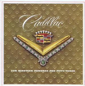 1953 Cadillac Försäljningsfolder Stor mycket fin