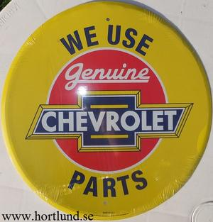 Chevrolet We use Genuine Parts