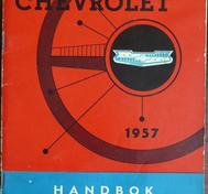 1957 Chevrolet Handbok Svenskt Original