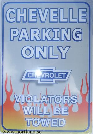 Chevelle Parking Only