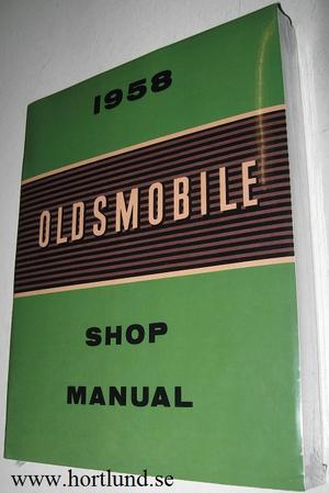 1958 Oldsmobile Shop Manual