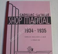 1934-35 Cadillac 355-D and 452-D La Salle 350 Shop manual