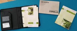 2000 Toyota Corolla Instruktionsbok