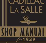 1939 Cadillac and La Salle  Shop manual