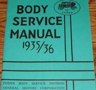 1935-1936 Fisher Body Service Manual