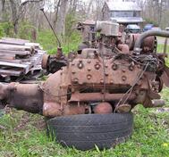 1953 Mercury Motor 255 ci 125 hp