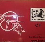 1969 Bedford CF Serie 97000 Handbok