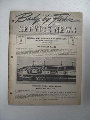 1954 Fisher Service News vol. 13  no. 6