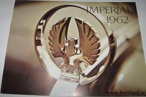 1962 Imperial broschyr