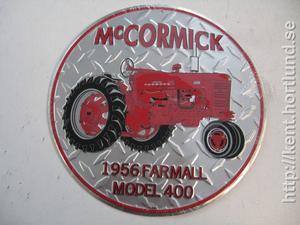 McCormick 1956 Farmall Mod 400