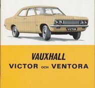1968 Vauxhall Victor och Ventora Handbok svensk