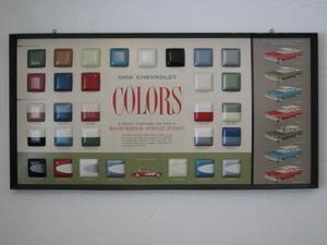 1959 Chevrolet Showroom-tavla