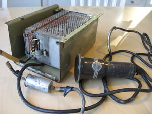 1949-1950 Philips NX679V Philitouring bussradio