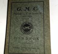 1929 GMC Modell T. 19 A och B Lastvagn Handbok svensk original