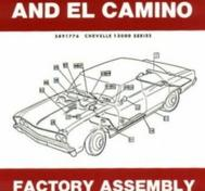 1967 Chevrolet Chevelle and El Camino Factory Assembly Instruction Manual