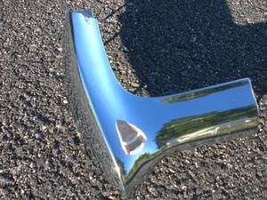 1969 Dodge Polara and Monaco New old stock original equipment left front Fender Extension for 1969