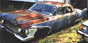 1960 Plymouth Fury 4d Sedan