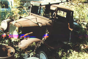 1929-31 Chevrolet lastbil