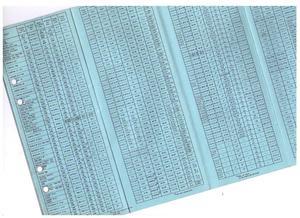 1967 Ford Service Data svensk