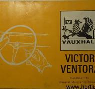1970 Vauxhall Victor Ventora Handbok svensk