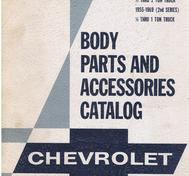 1938 - 1969 Chevrolet Body Parts and Accessories Catalog