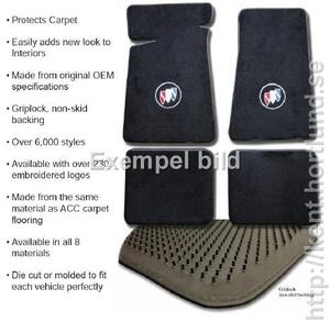 65 - 70 Carpet Floor Mats 4pc FM323