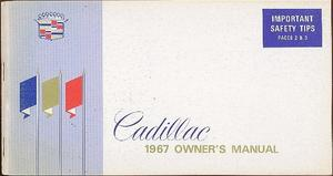 1967 Cadillac Owners Manual