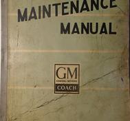 1949 GMC 3209-3642 Coach Maintenance Manual