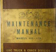 1950 GMC 400-470 Truck Maintenance Manual