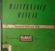 1952 GMC 450-470 Truck Maintenance Manual