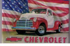Chevrolet Pickup kylskåpsmagnet