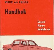 1964 Vauxhall PB Velox & Cresta Handbok svensk