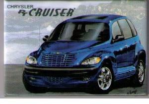 Chrysler PT Cruiser kylskåpsmagnet