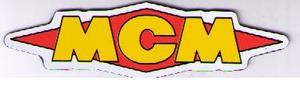 MCM kylskåpsmagnet