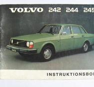 1975 Volvo 242 244 245 Instruktionsbok