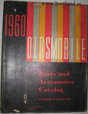 1960 Oldsmobile Body Parts Book