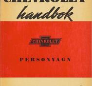 1948 Chevrolet Handbok Svenskt Original