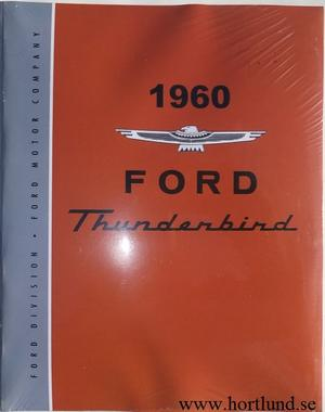 1960 Ford Thunderbird Shop Manual